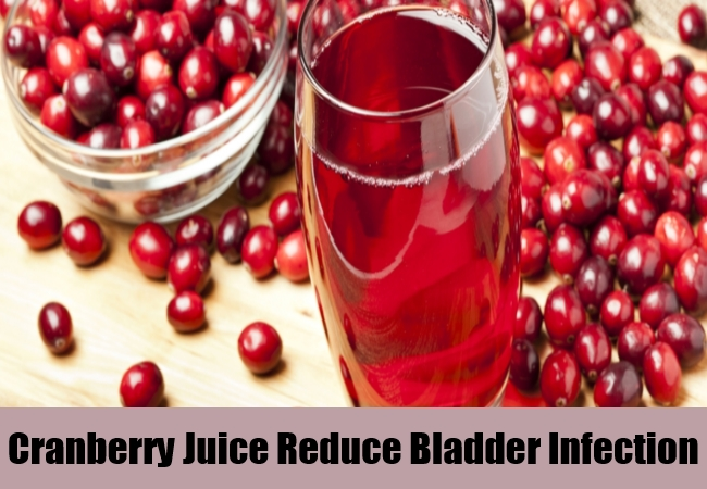 Cranberry Juice Reduce Bladder Infection