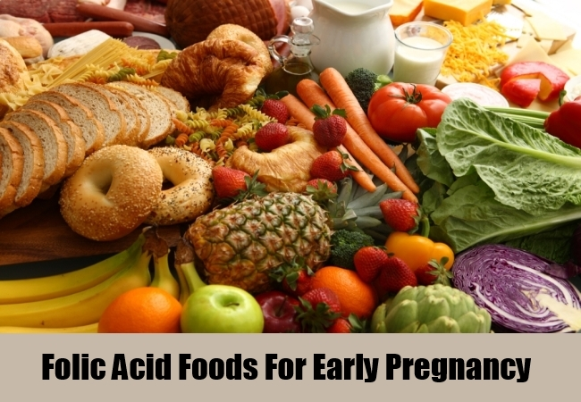 Folic Acid Foods For Early Pregnancy