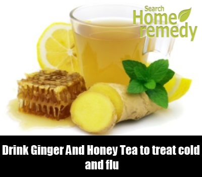 Ginger And Honey Tea