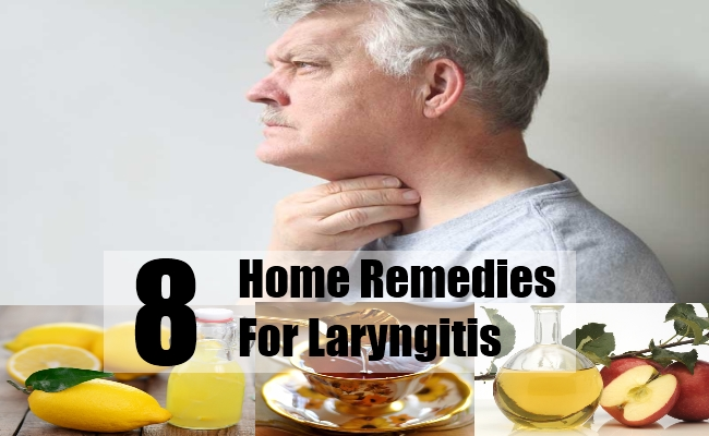 Home Remedies For Laryngitis