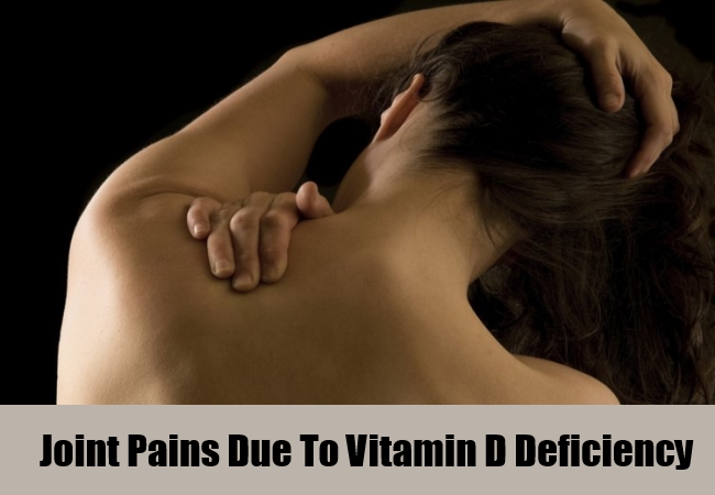 Joint Pains Due To Vitamin D Deficiency