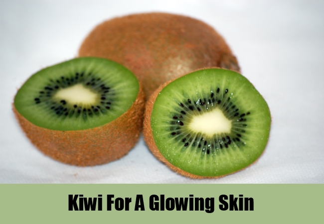 Kiwi For A Glowing Skin