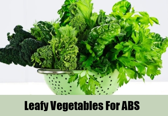 Leafy Vegetables For ABS