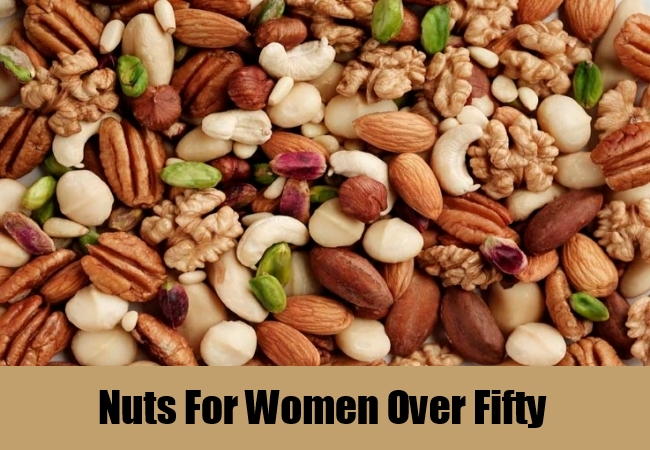 Nuts For Women Over Fifty