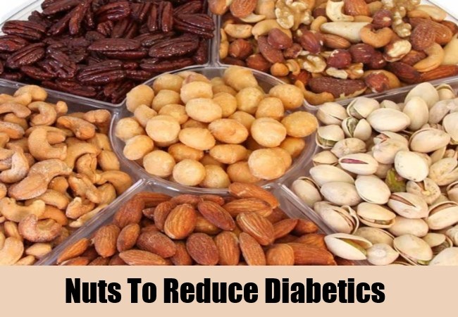 Nuts To Reduce Diabetics