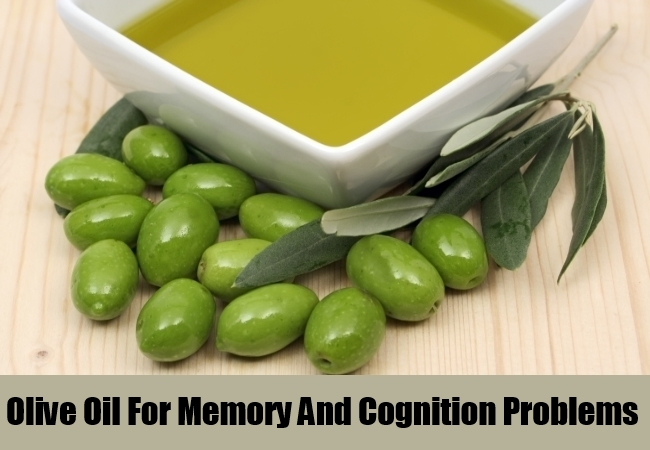 Olive Oil For Memory And Cognition Problems