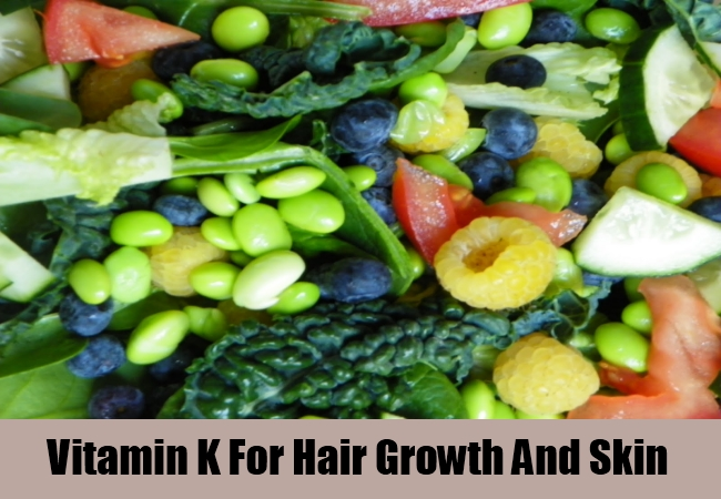 Vitamin K For Hair Growth And Skin