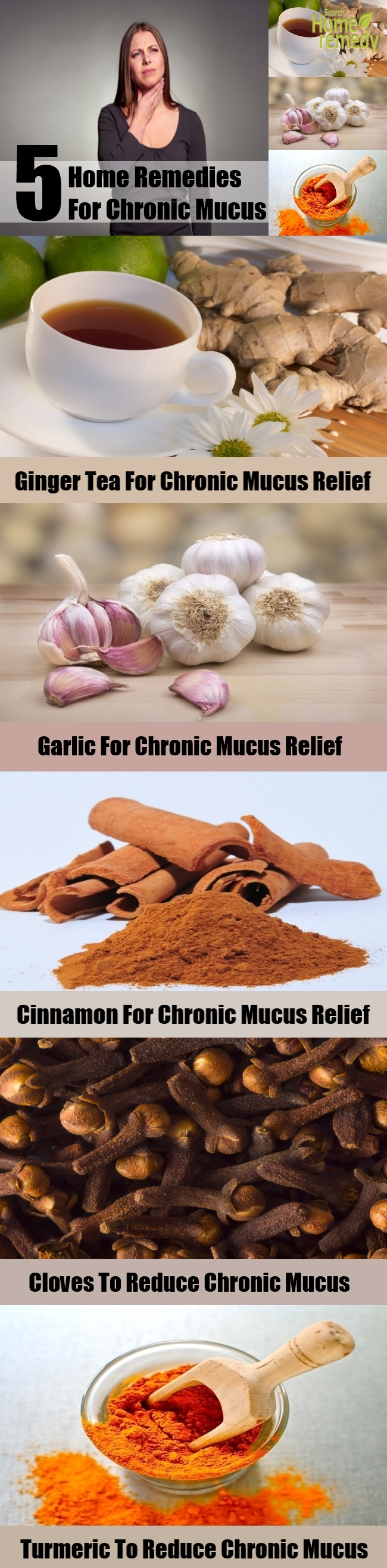 5 Best Home Remedies For Chronic Mucus