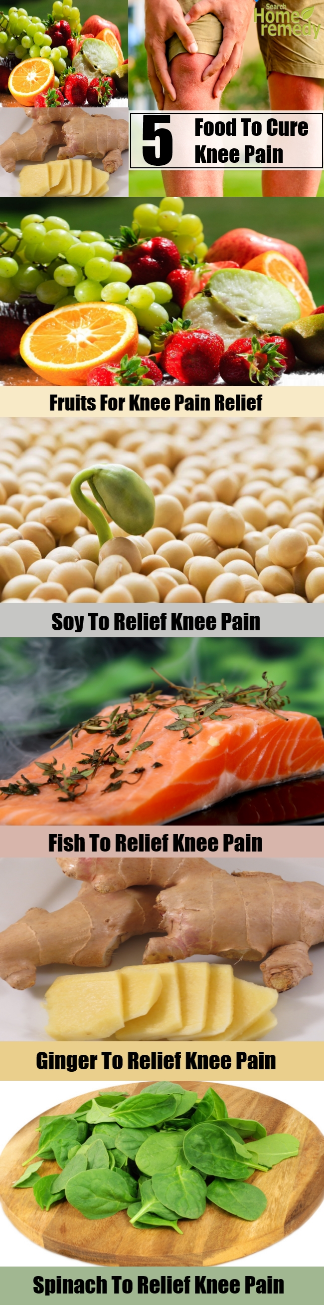 5 Food To Cure Knee Pain