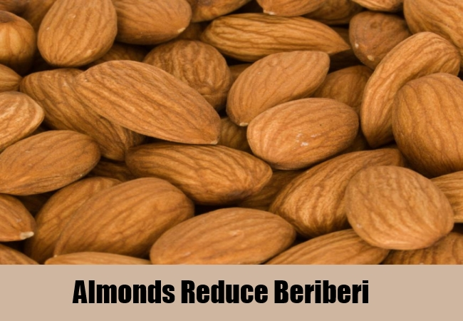 Almonds Reduce Beriberi
