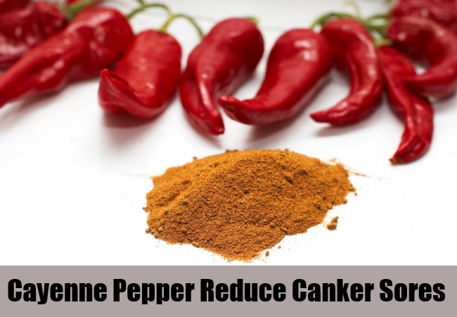 Cayenne Pepper Reduce Canker Sores