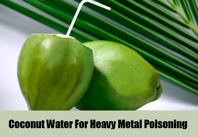 Coconut Water For Heavy Metal Poisoning
