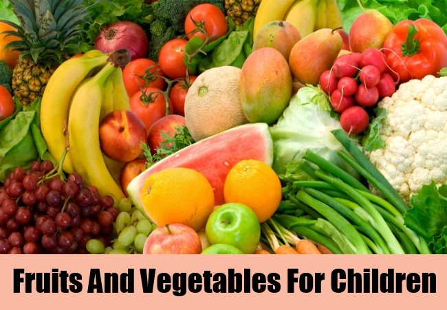 Fruits And Vegetables For Children