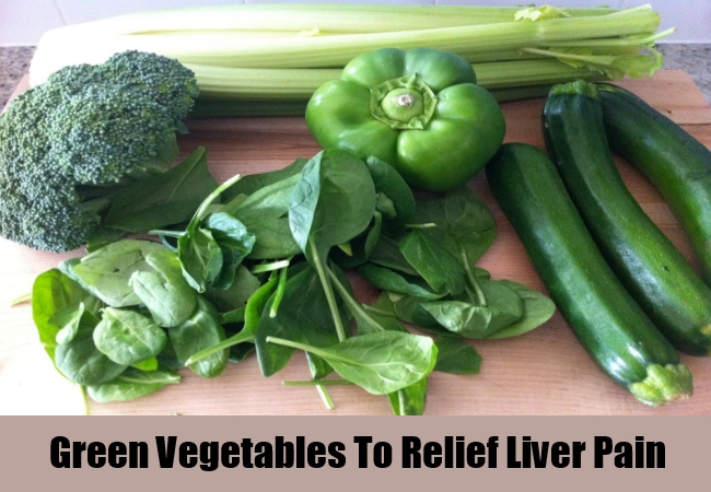 Green Vegetables To Relief Liver Pain
