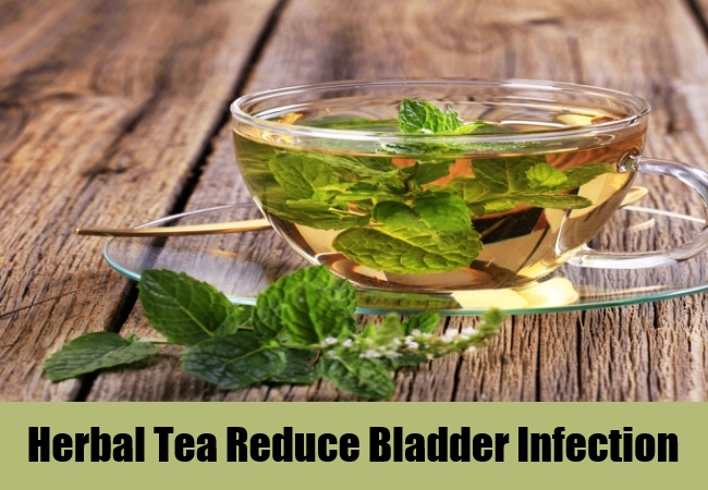 Herbal Tea Reduce Bladder Infection