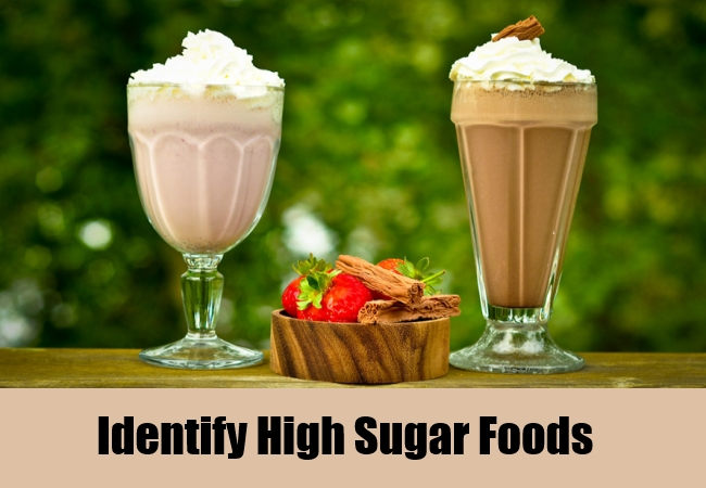 Identify High Sugar Foods
