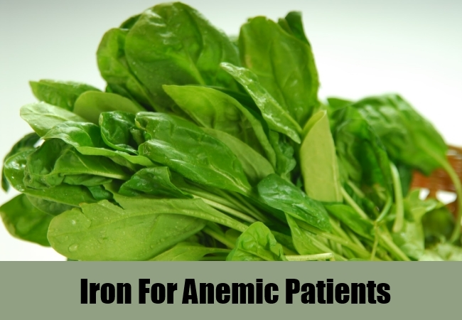 Iron For Anemic Patients