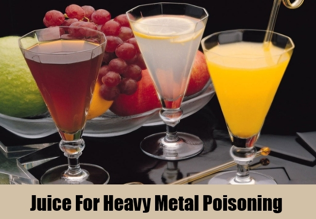 Juice For Heavy Metal Poisoning
