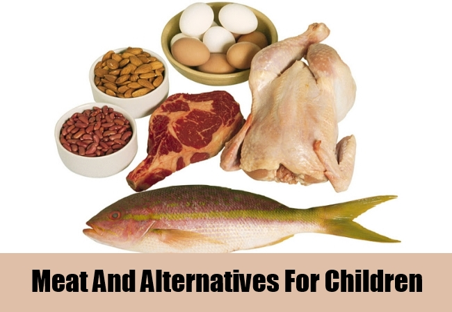 Meat And Alternatives For Children