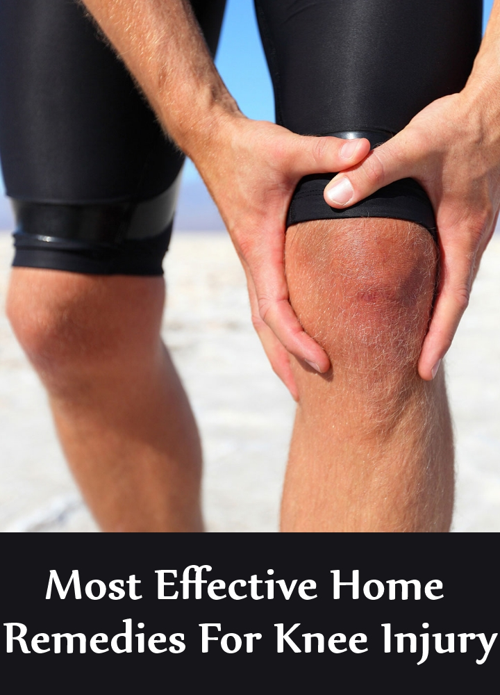 Most Effective Home Remedies For Knee Injury