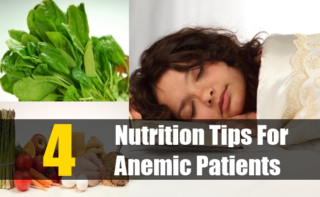 Nutrition Tips For Anemic Patients