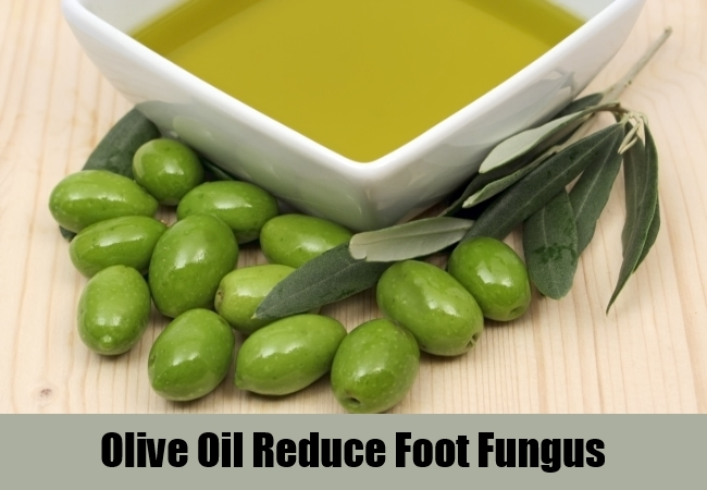 Olive Oil Reduce Foot Fungus