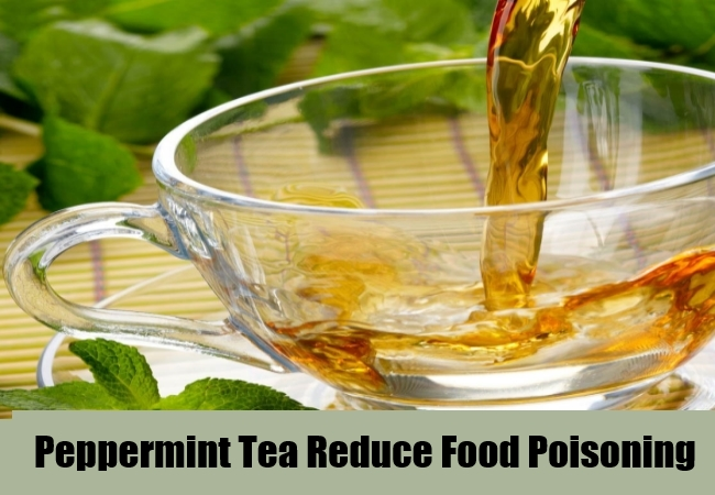 Peppermint Tea Reduce Food Poisoning