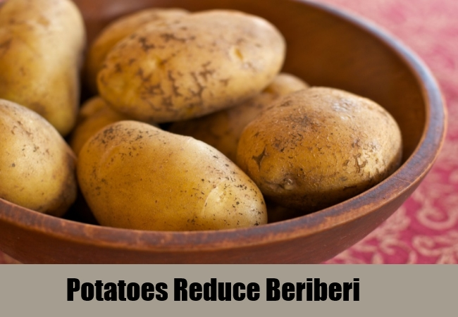 Potatoes Reduce Beriberi