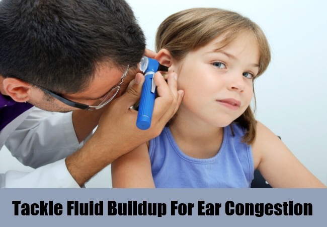Tackle Fluid Buildup For Ear Congestion