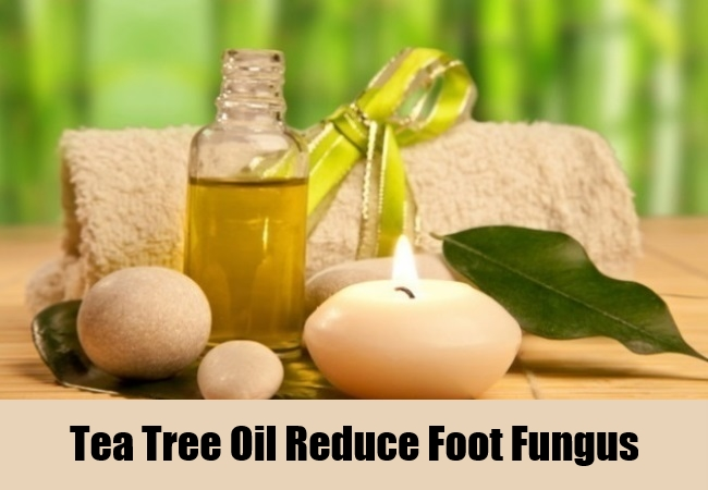 Tea Tree Oil Reduce Foot Fungus