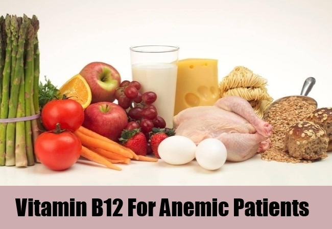 Vitamin B12 For Anemic Patients