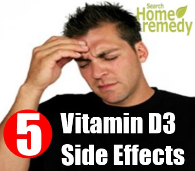5 Various Common Side Effects Of Vitamin D3 | Search Home ...