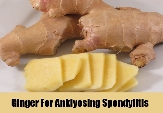 Ginger For Anklyosing Spondylitis