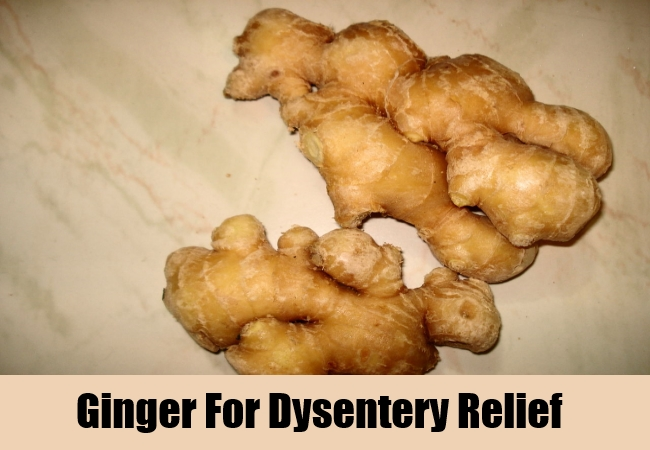 Ginger For Dysentery Relief