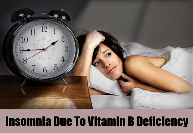 Insomnia Due To Vitamin B Deficiency