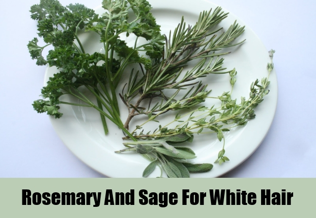 Rosemary And Sage For White Hair