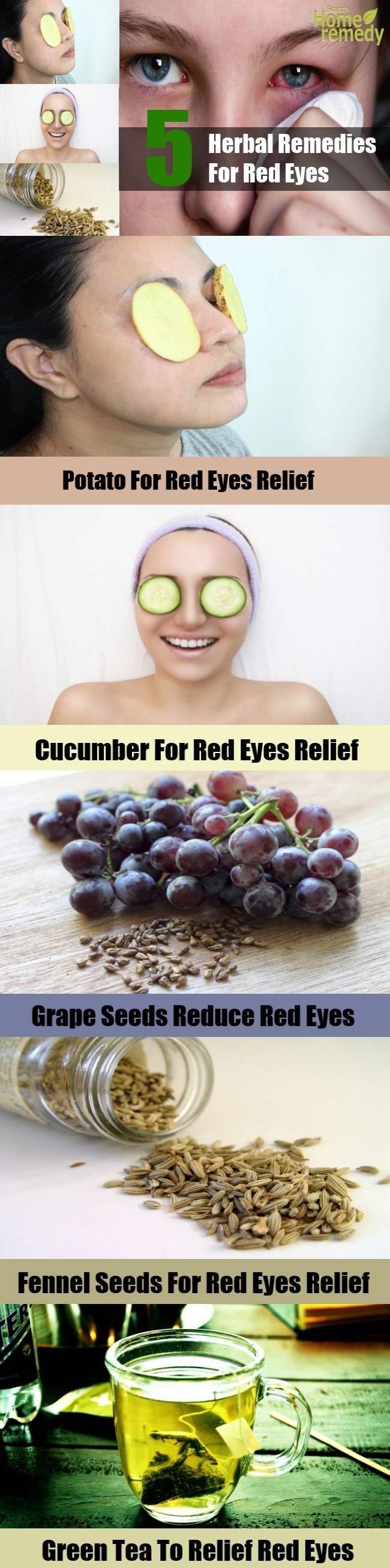 Top 5 Herbal Remedies For Red Eyes