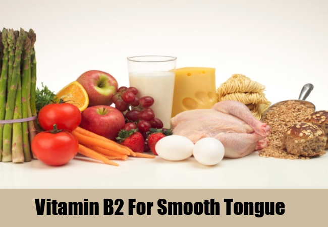 Vitamin B2 For Smooth Tongue