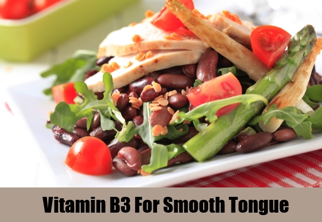Vitamin B3 For Smooth Tongue