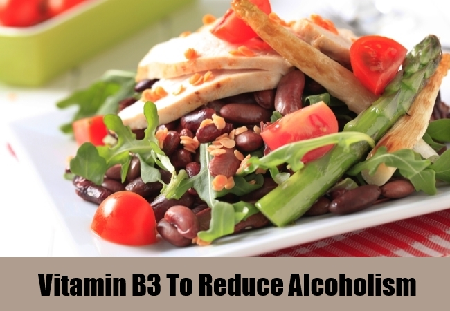 Vitamin B3 To Reduce Alcoholism
