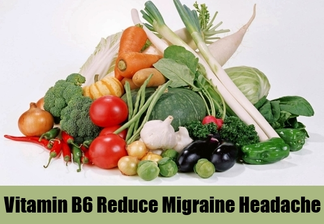 Vitamin B6 Reduce Migraine Headache