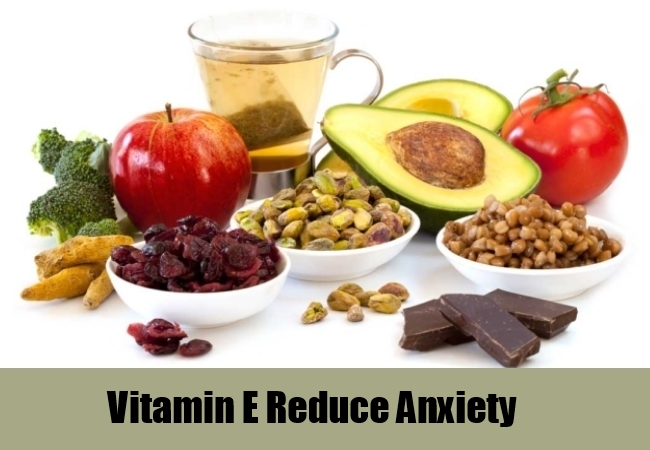 Vitamin E Reduce Anxiety