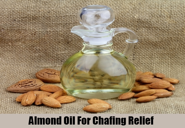 Almond Oil For Chafing Relief