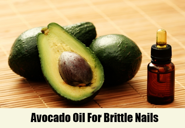 Avocado Oil For Brittle Nails