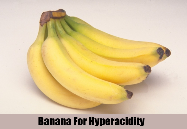 Banana For Hyperacidity