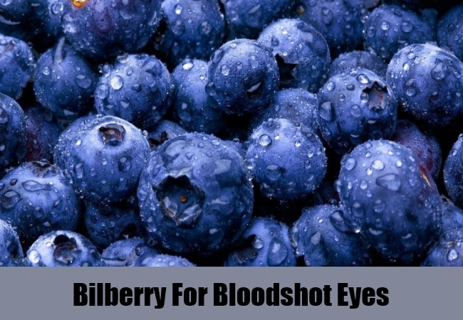 Bilberry For Bloodshot Eyes