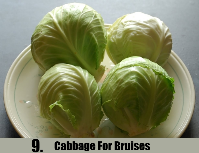 Cabbage For Bruises