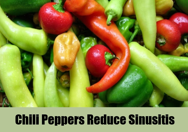Chili Peppers Reduce Sinusitis