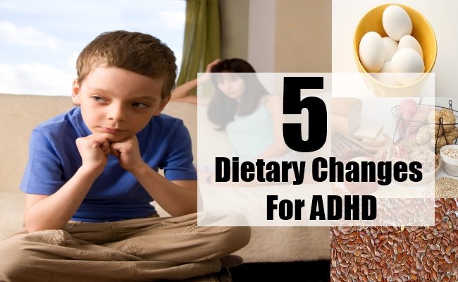 Dietary Changes For ADHD