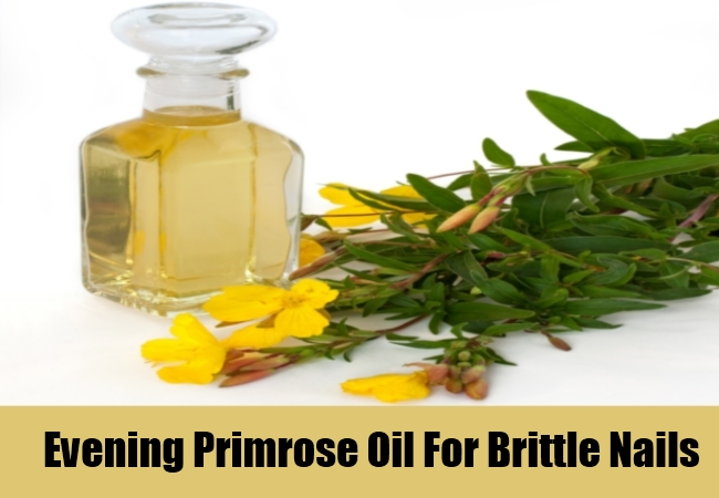 Evening Primrose Oil For Brittle Nails
